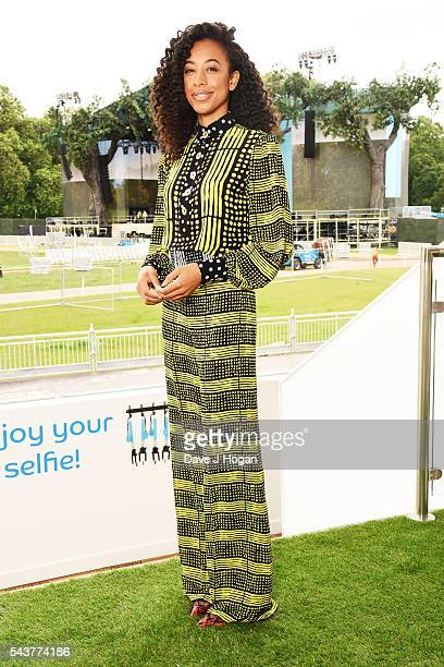 Corinne Bailey Rae attends Barclaycard presents the British Summer Time 2016 Media Day she'll be performing along with Massive Attack Florence and...