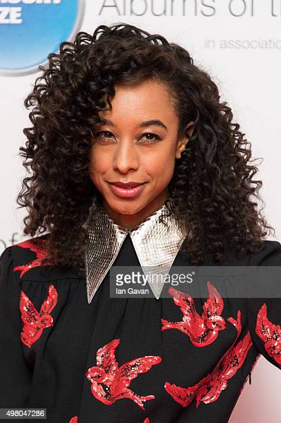 Corinne Bailey Rae attends the Mercury Music Prize at BBC Broadcasting House on November 20, 2015 in London, England.