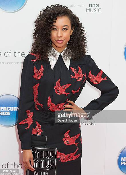 Corinne Bailey Rae attends the Mercury Prize at BBC Radio Theatre on November 20, 2015 in London, England.