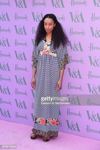 Corinne Bailey Rae attends the VA Summer Party at The VA on June 20 2018 in London England