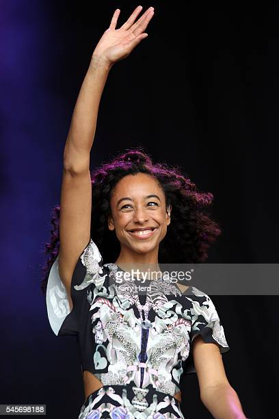 Corinne Bailey Rae performs at Cornbury Festival at Great Tew Estate on July 9 2016 in Oxford England