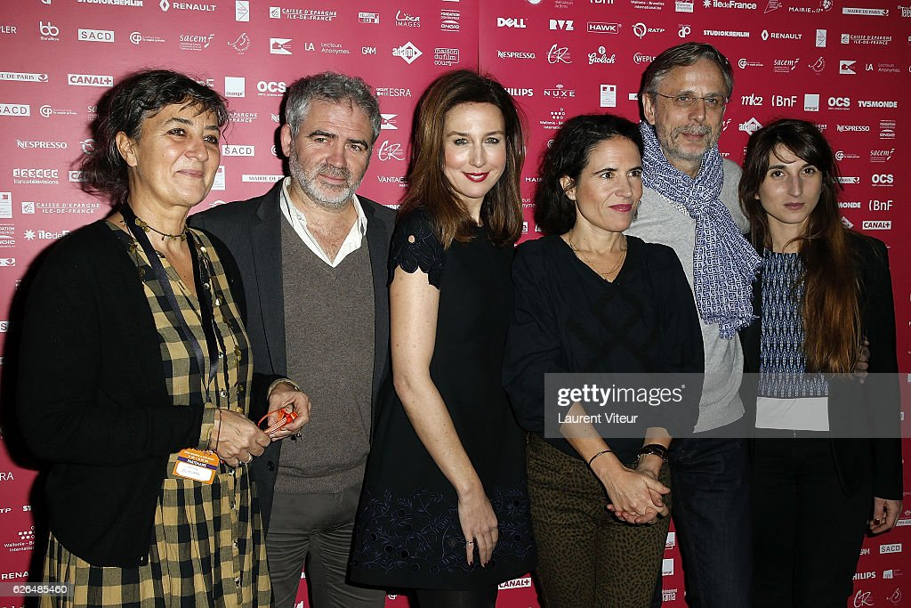 """Courts Devants"" Festival : Photocall At MK2 Bibliotheque in Paris"