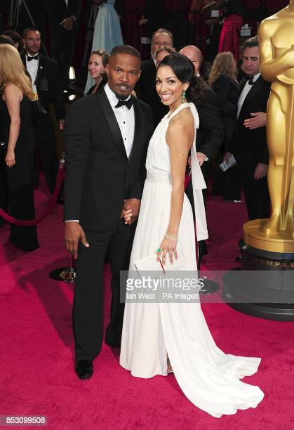 Corinne Bishop and Jamie Foxx arriving at the 86th Academy Awards held at the Dolby Theatre in Hollywood Los Angeles CA USA March 2 2014