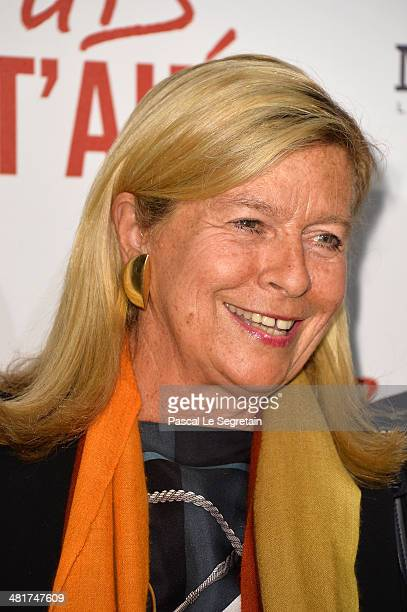 Corinne Bouygues attends 'Salaud On T'Aime' Paris Premiere at Cinema UGC Normandie on March 31 2014 in Paris France