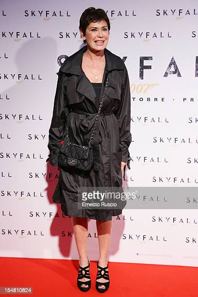 Corinne Clery attends 'Skyfall' Rome premiere at The Space Moderno on October 26 2012 in Rome Italy