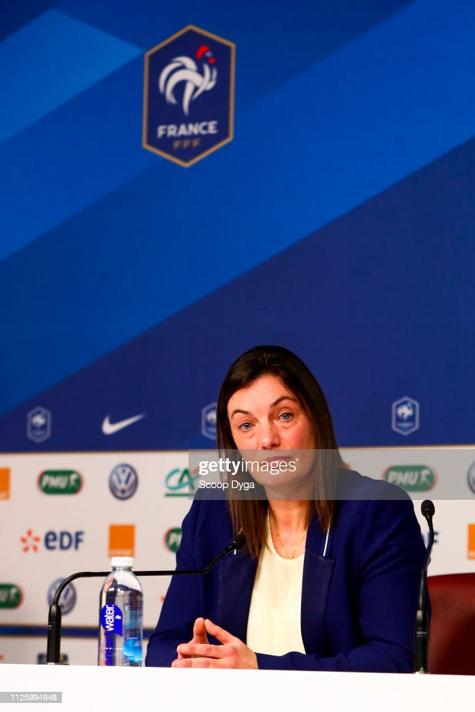 FRA: Press Conference French Women's Team