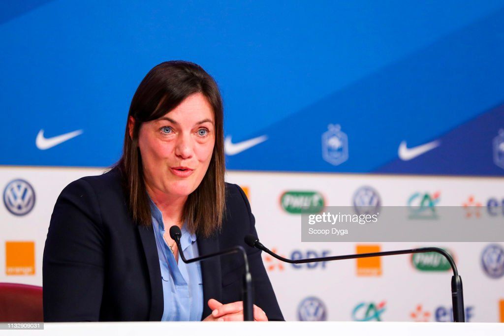FRA: Press Conference French Women Football