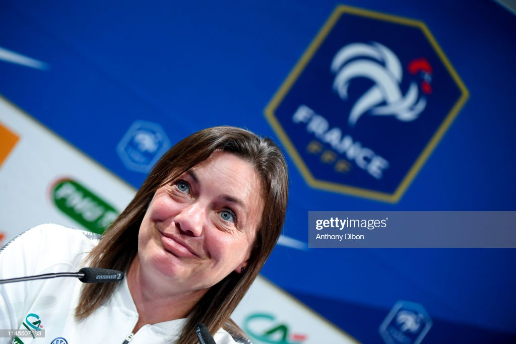 FRA: Press Conference of Corinne Diacre