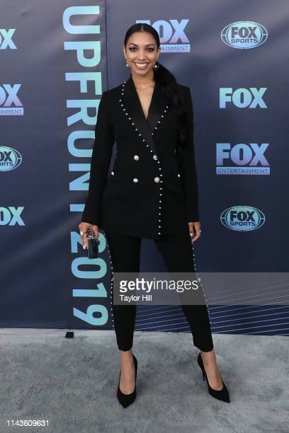 Corinne Foxx attends the 2019 FOX Upfront at Wollman Rink in Central Park on May 13 2019 in New York City