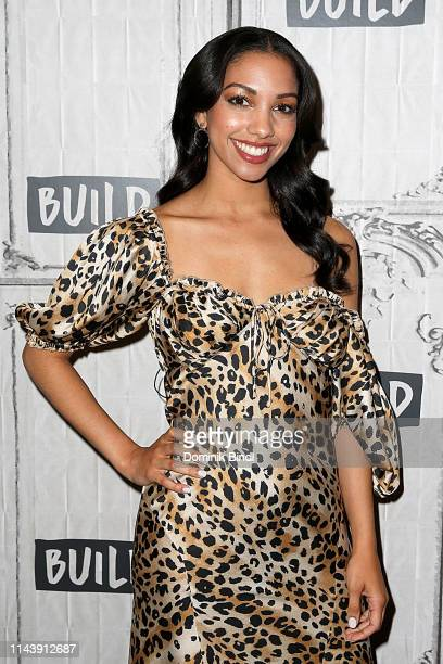 Corinne Foxx attends the Build Brunch at Build Studio on May 14 2019 in New York City