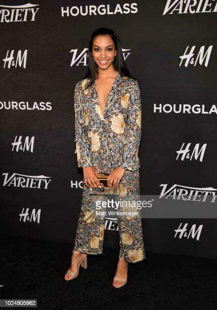 Corinne Foxx attends Variety's annual Power of Young Hollywood at Sunset Tower Hotel on August 28 2018 in West Hollywood California