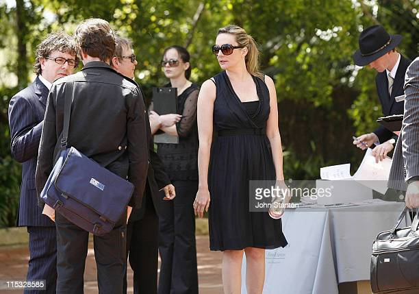 Corinne Grant during Belinda Emmett Funeral Service at Mary Immaculate Church in Sydney New South Wales Australia