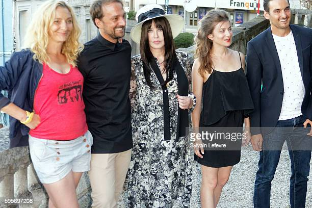 Corinne Masiero LouisJulien Petit Isabelle Adjani Sarah Suco and guest attend 9th Angouleme FrenchSpeaking Film Festival on August 25 2016 in...