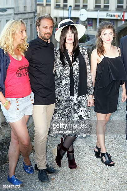 Corinne Masiero LouisJulien Petit Isabelle Adjani Sarah Suco attend 9th Angouleme FrenchSpeaking Film Festival on August 25 2016 in Angouleme France