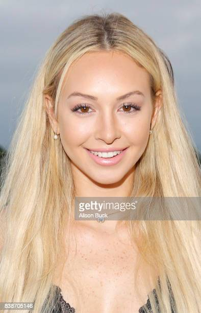 Corinne Olympios attends SHOWPO US Launch Party At Neuehouse Hollywood at NeueHouse Hollywood on August 24 2017 in Los Angeles California