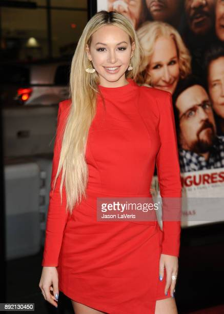 Corinne Olympios attends the premiere of 'Father Figures' at TCL Chinese Theatre on December 13 2017 in Hollywood California