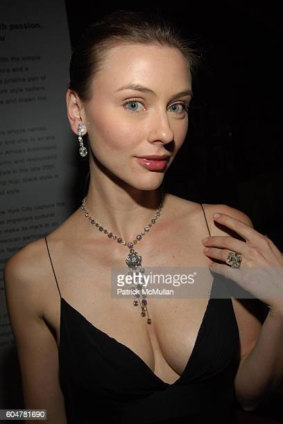 Corinne Russell attends NEW YORK AFTER DARK with Museum of the City of New York at Museum of the City of New York on September 20 2006 in New York...