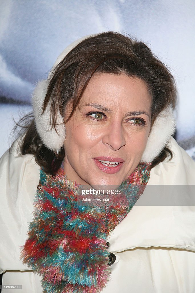 Corinne Touzet attends 'From Paris with Love' Paris premiere at Cinema UGC Normandie on February 11, 2010 in Paris, France.