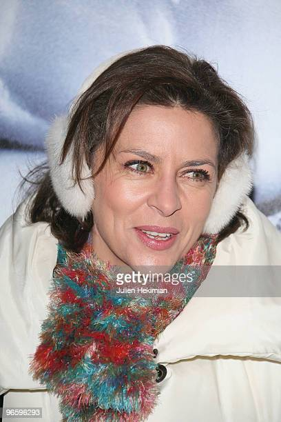"Corinne Touzet attends ""From Paris with Love"" Paris premiere at Cinema UGC Normandie on February 11, 2010 in Paris, France."