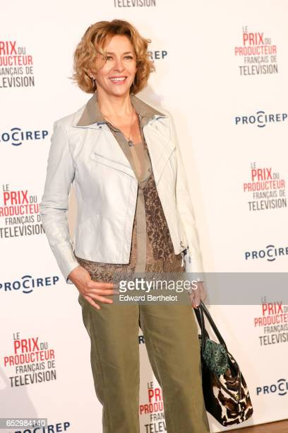 Corinne Touzet attends the 23rd Prix Du Producteur Francais De Television at the Trianon on March 13 2017 in Paris France