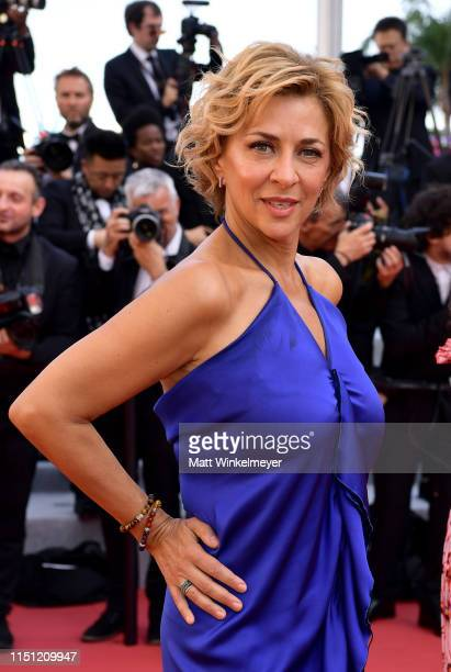"""Corinne Touzet attends the screening of """"The Traitor"""" during the 72nd annual Cannes Film Festival on May 23, 2019 in Cannes, France."""