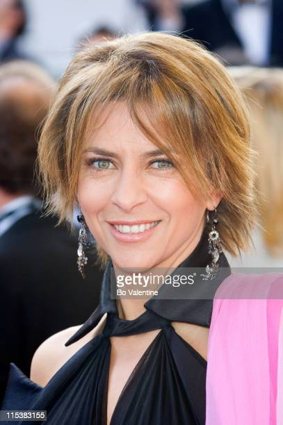 "Corinne Touzet during 2005 Cannes Film Festival - ""The Three Burials of Melquiades Estrada"" Premiere in Cannes, France."
