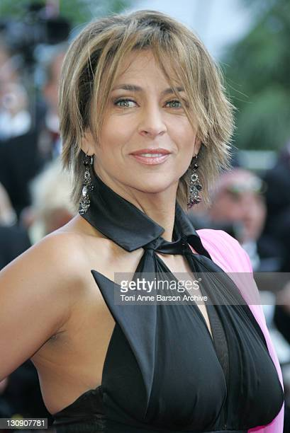 Corinne Touzet during 2005 Cannes Film Festival 'The Three Burials of Melquiades Estrada' Premiere at Palais de Festival in Cannes France