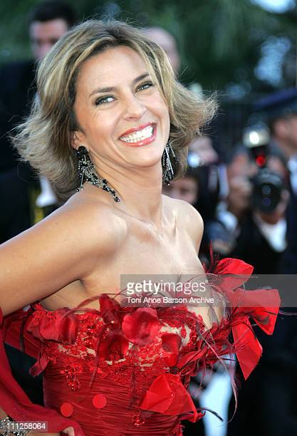 "Corinne Touzet during 2006 Cannes Film Festival - ""Volver"" Premiere at Palais Du Festival in Cannes, France."