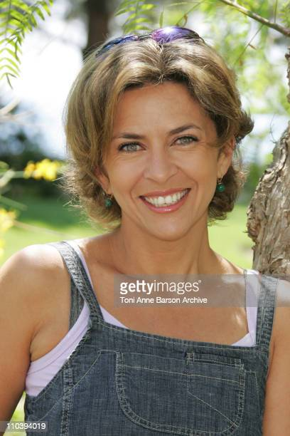 """Corinne Touzet during 45th Monte Carlo Television Festival - Corinne Touzet of """"Femme D'Honneur"""" Photocall at Japonese Gardens in Monte Carlo, Monaco."""