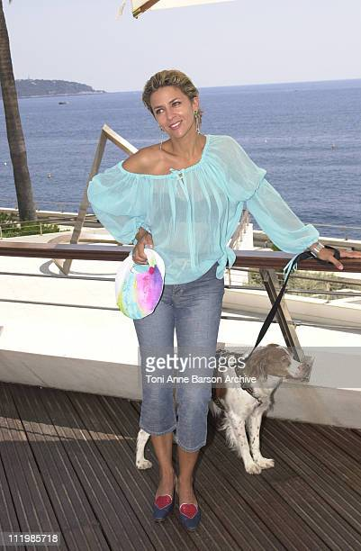Corinne Touzet during Monte Carlo Television Festival 2002 - Corinne Touzet Photo Call at Grimaldi Forum in Monte-Carlo, Monaco.