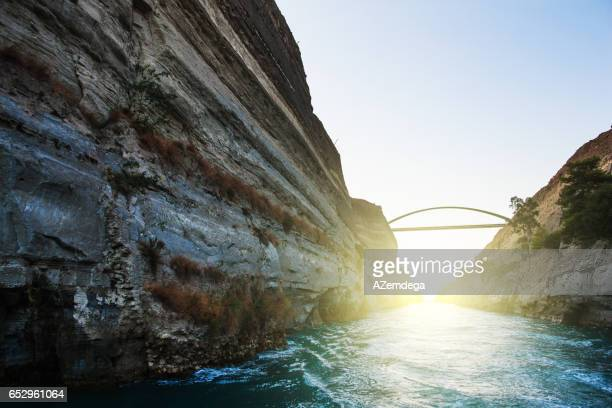 corinth canal - gulf shores alabama stock pictures, royalty-free photos & images