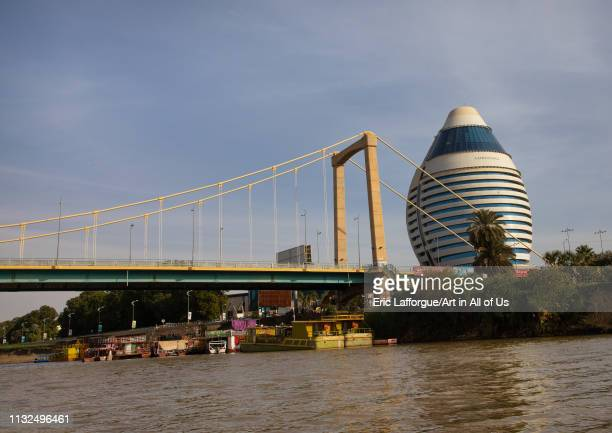 Corinthia hotel on river Nile, Khartoum State, Khartoum, Sudan on January 5, 2019 in Khartoum, Sudan.