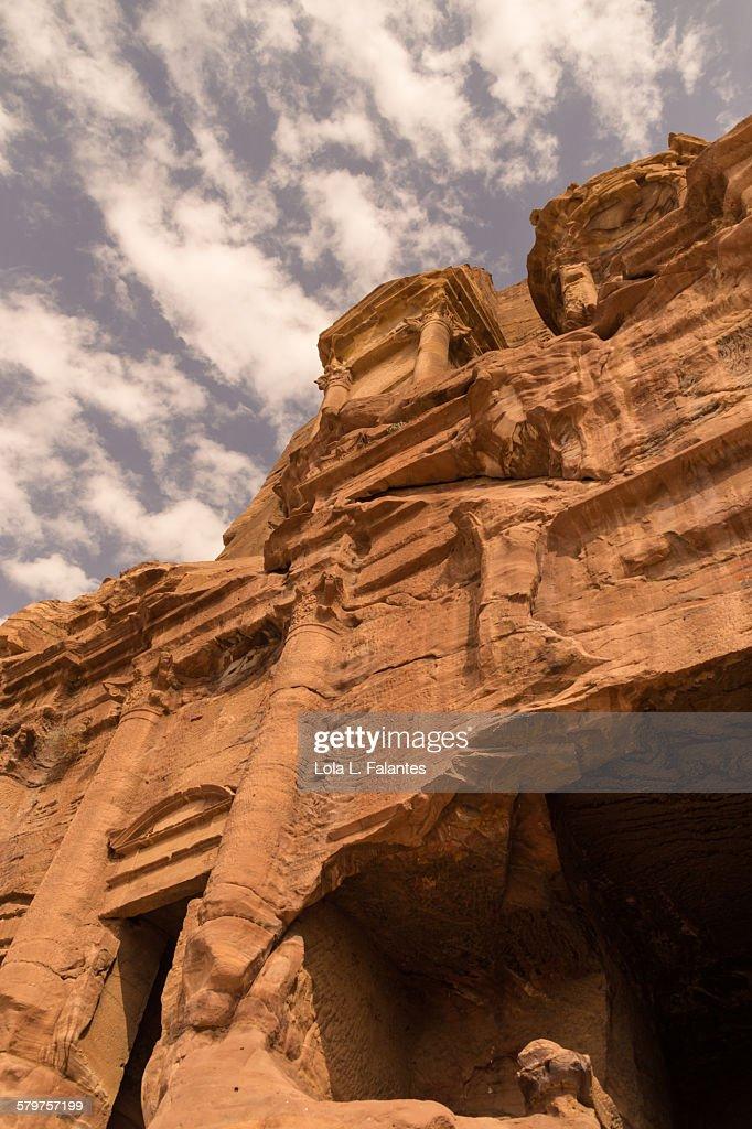 Corinthian Tomb, Petra : Stock-Foto