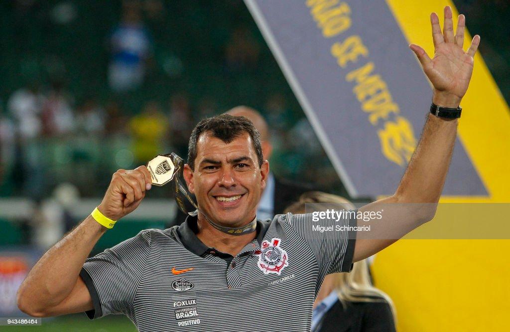 Palmeiras v Corinthians - Paulista Championship 2018 : News Photo