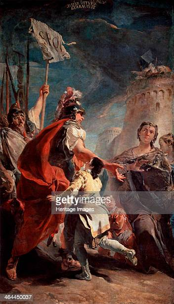 'Coriolanus Before the Gates of Rome' c1730 Tiepolo Giambattista Found in the collection of the State Hermitage St Petersburg