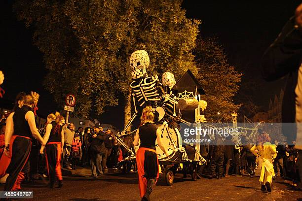 Cork at Halloween night