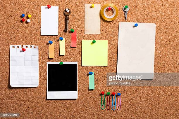 cork board items