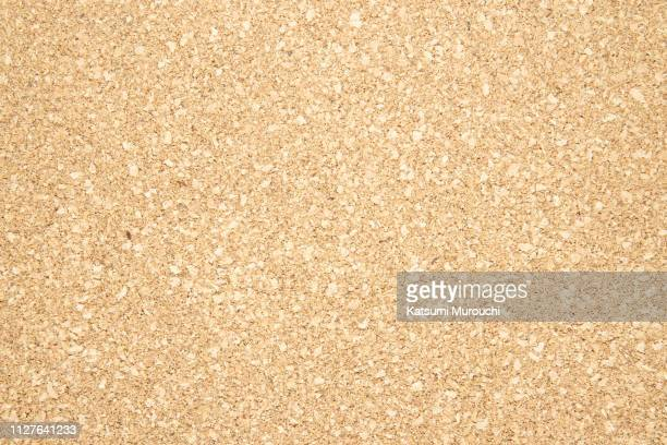 cork board texture background - cork material stock photos and pictures