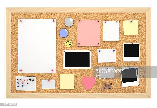 Cork Board with Frame [filled]