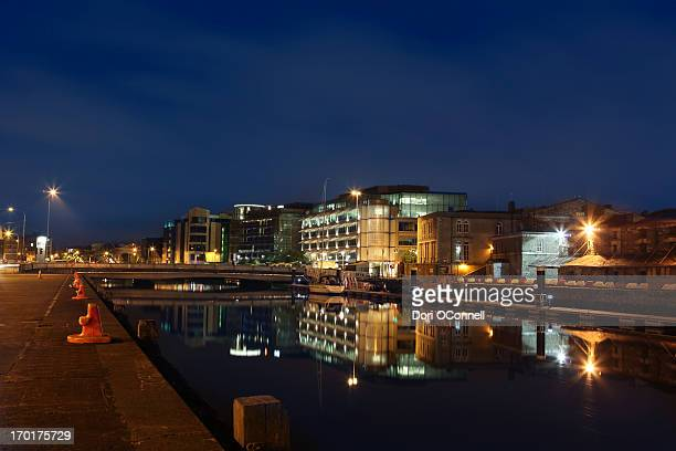 Cork City at night