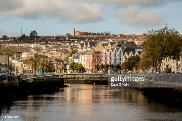 cork city. ireland - cork city stock pictures, royalty-free photos & images