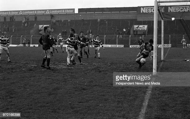 Cork City Vs Bohemians in the League of Ireland match at Dalymount Park, . .