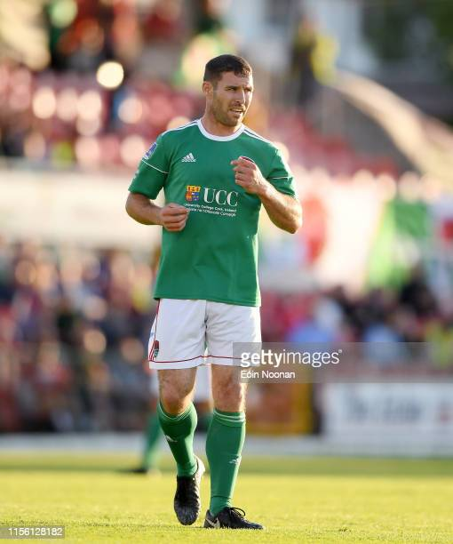 Cork , Ireland - 11 July 2019; Mark O'Sullivan of Cork City during the UEFA Europa League First Qualifying Round 1st Leg match between Cork City and...
