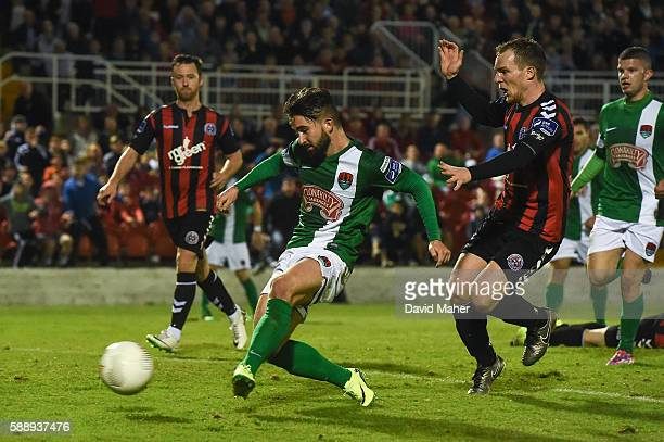 Cork Ireland 12 August 2016 Sean Maguire of Cork City has a goal disallowed due to an offside during the SSE Airtricity League Premier Division...