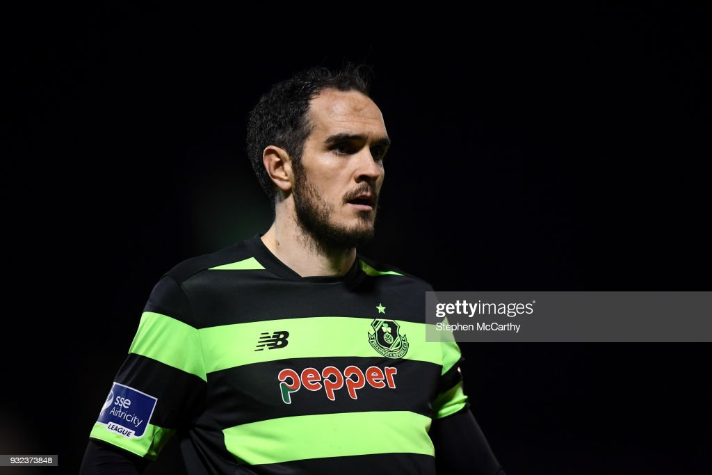 Cork , Ireland - 12 March 2018; Joey O'Brien of Shamrock Rovers during the SSE Airtricity League Premier Division match between Cork City and Shamrock Rovers at Turner's Cross in Cork.