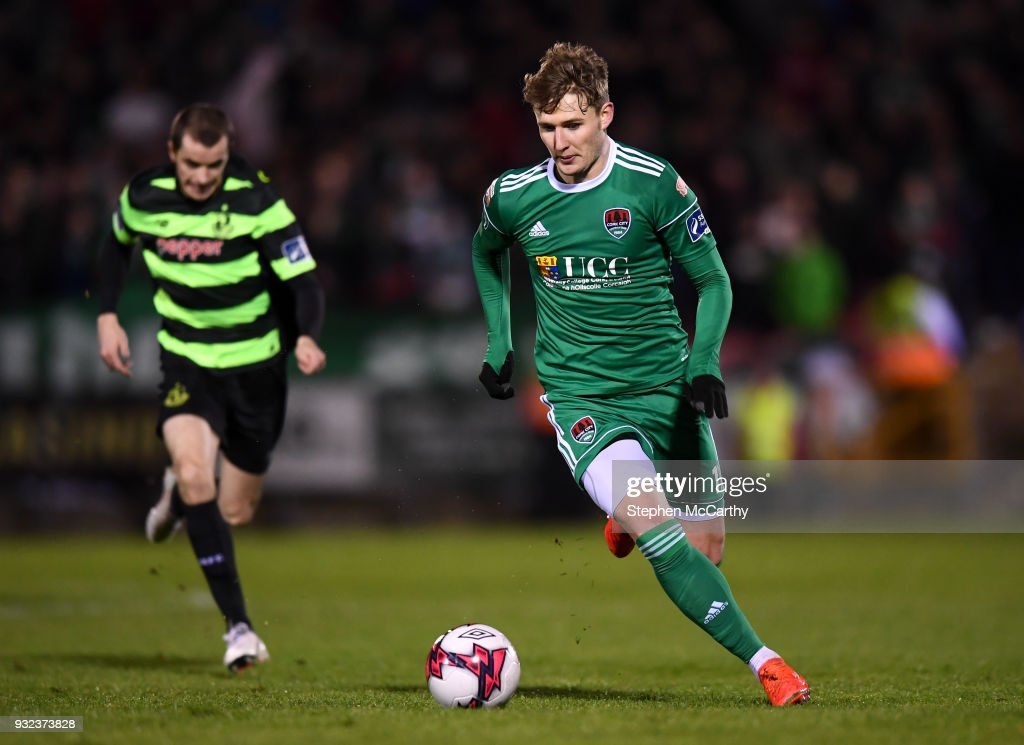 Cork , Ireland - 12 March 2018; Kieran Sadlier of Cork City during the SSE Airtricity League Premier Division match between Cork City and Shamrock Rovers at Turner's Cross in Cork.