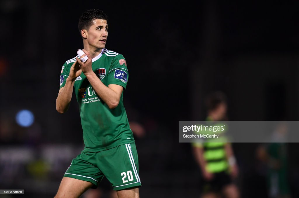 Cork , Ireland - 12 March 2018; Shane Griffin of Cork City during the SSE Airtricity League Premier Division match between Cork City and Shamrock Rovers at Turner's Cross in Cork.