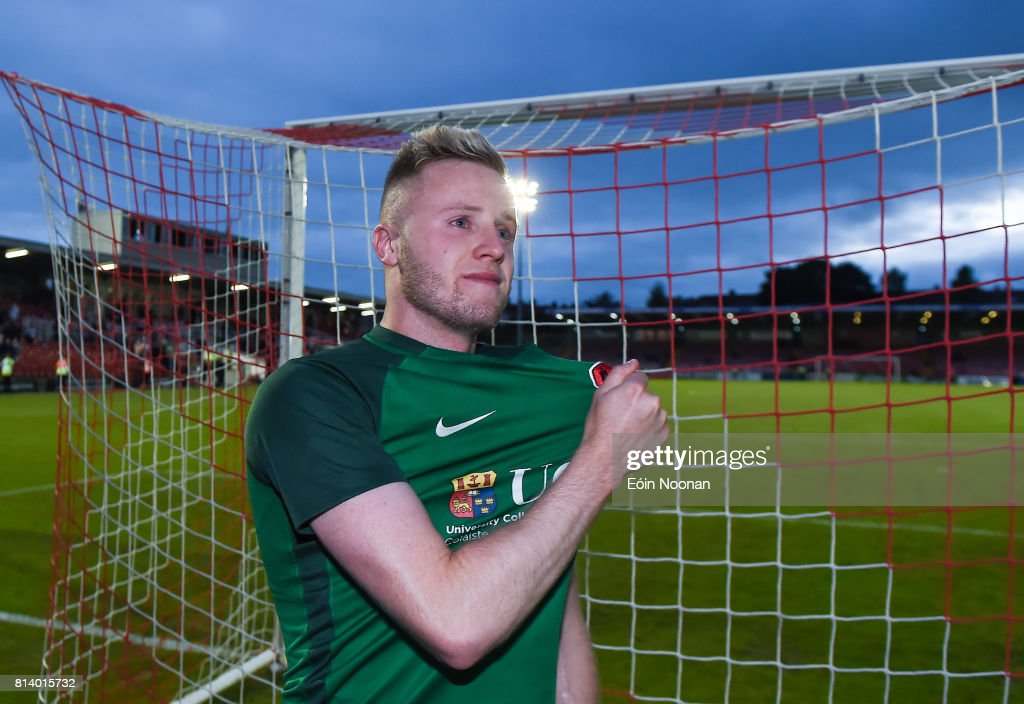 Cork , Ireland - 13 July 2017; Kevin O'Connor of Cork City after the UEFA Europa League Second Qualifying Round First Leg match between Cork City and AEK Larnaca at Turner's Cross in Cork.