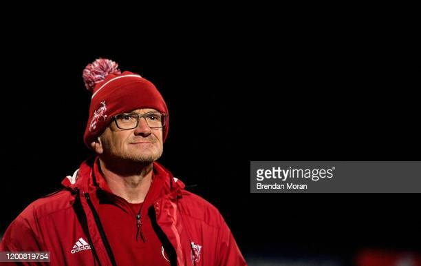 Cork , Ireland - 14 February 2020; Munster forwards coach Graham Rowntree prior to the Guinness PRO14 Round 11 match between Munster and Isuzu...