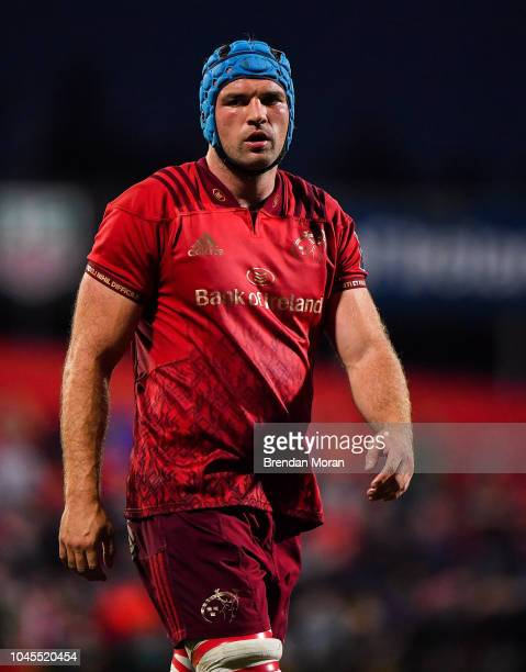 Cork Ireland 14 September 2018 Tadhg Beirne of Munster during the Guinness PRO14 Round 3 match between Munster and Ospreys at Irish Independent Park...